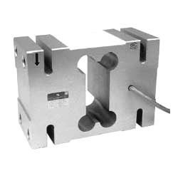 Load cell 500 kg. Single point. Aluminium.