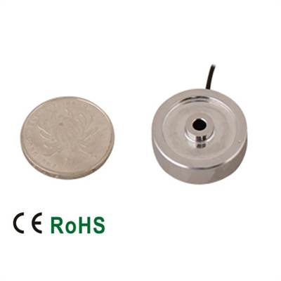 Load cell 296AS subminiature 50kN. IP66. Stainless. M16 or 5/8.