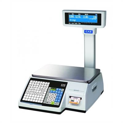 Label scale 6kg/2g & 15kg/5g with column. Verified M.