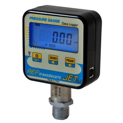 Digital pressure gauge JET 10 bar