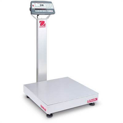Defender 5000 D52P Ohaus, 60kg/5g & 150kg/10g, 500x500 mm. With column.