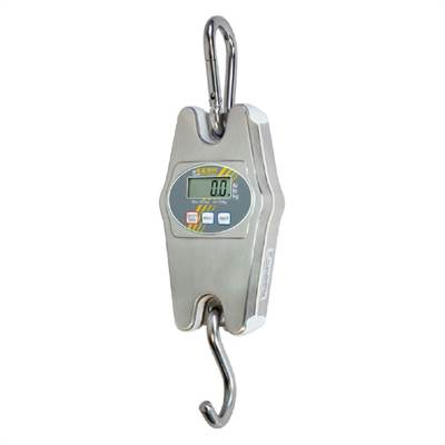 Hanging scale, 20kg/50g, stainless IP65