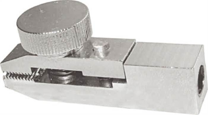 Long clamp for tension and fracture tests to 50 N, 2 pieces