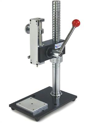 Manual test bench 500N for compressive force measurement