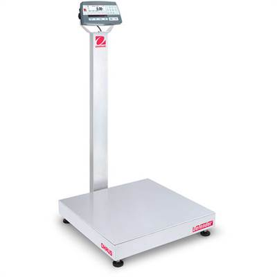 Defender 5000 D52P Ohaus, 30kg/10g & 60kg/20g, 610x610 mm. With column, Verified M.
