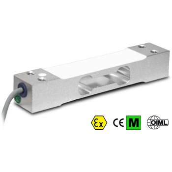 Load cell 5 kg. Single point. Aluminium. OIML C3, ATEX.