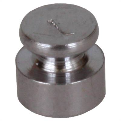 Chromeplated Iron weight. Accuracy M1. 1 g.