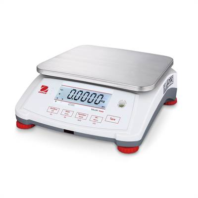 Bench scale 15kg/0,5g, Ohaus Valor 7000, dual display. Without battery.