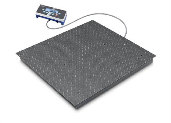 Floor scale BID 3000kg/1kg. 1200x1500 mm. Verified M.