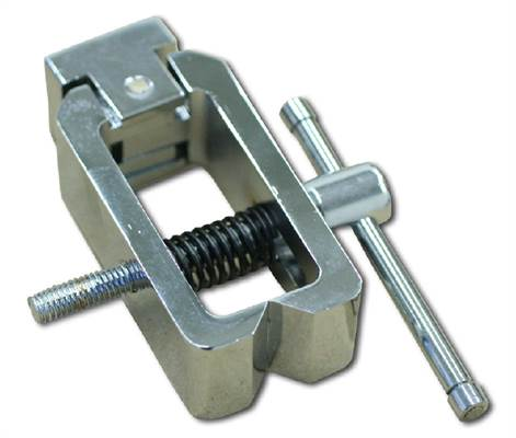 Pin vice for tension and fracture tests to 500 N (e.g. for cable tests), 2 pieces