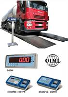 Stationary vehicle weighing