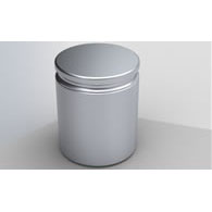 Control weight Zwiebel 50kg, E2 stainless in wooden box. Incl certificate.