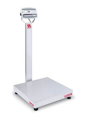 Defender 5000 D52XW Ohaus, 60kg/5g & 150kg/10g, 610x610 mm. With column.