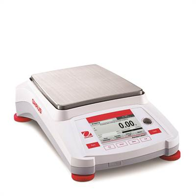 Precision balance Ohaus Adventurer 2200g/0,1g, Intern calibration.