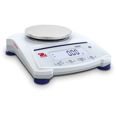 Precision scale for weighing jewelry. Ohaus Scout SJX. 620g/0,01g. Man. Intern cal.