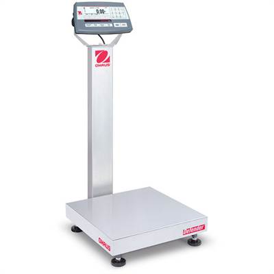 Defender 5000 D52P Ohaus, 15kg/1g & 30kg/2g, 400x400 mm. With column.