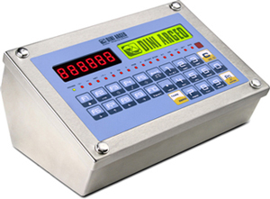 Weighing Indicator for ATEX Zone 2 and 22, Stainless steel.