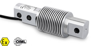 Load cell 200kg. OIML C6. Stainless steel.