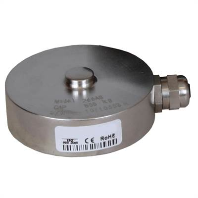 Load cell 2 ton. Compression. IP67 Nickel plated