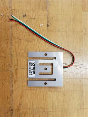 Planar load cell 202WAT1-37.5lb (17,01kg). Short cable.