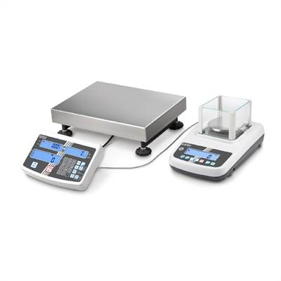Counting system Kern CCA 600g/0,01g with external weighing platform 3kg/1g & 6kg/2g.
