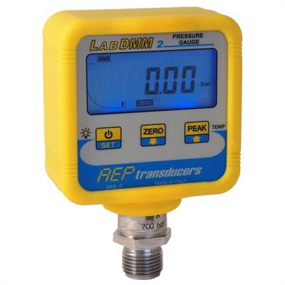 Digital manometer LABDMM2 250 bar. For pressure and temperature measurement.