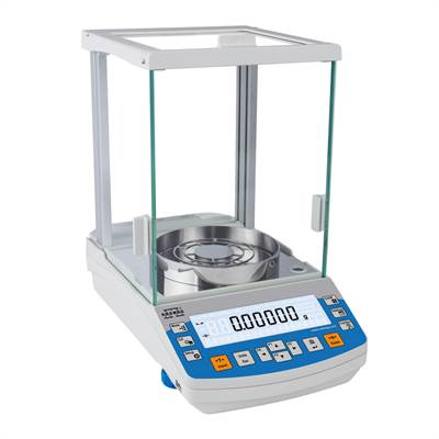 Analytical balance 62g/0,01mg. Intern Cal. Radwag.