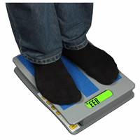 Personal scales portable