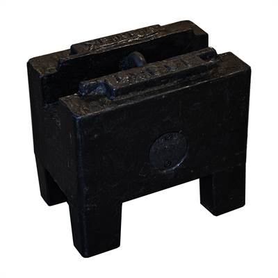 Rectangular cast Iron weight 100kg with RISE, Zwiebel or CIBE report with tolerance according to M2