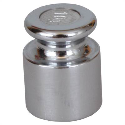 Chromeplated Iron weight. Accuracy M1. 5 g.