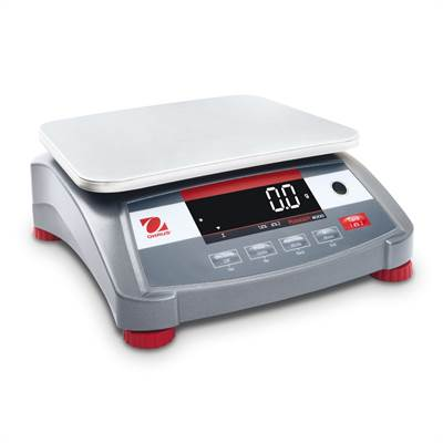 Bench scale 15kg/5g, Ohaus Ranger 4000, industrial weighing. Verified M.