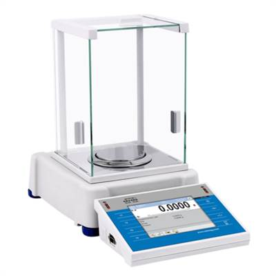 Analytical balance touch screen 220g/0,1mg. OIML. Radwag.