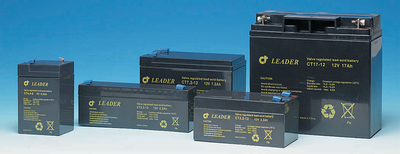 Rechargeable battery 6V/1,3Ah, 50x95x23 mm.