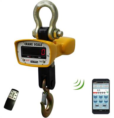 Crane Scale 3000kg/1kg with bluetooth for Android APP