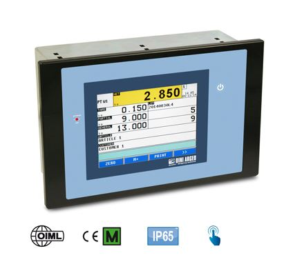 Touch screen indicator with AF01 software. Panel enclosure. Colour Display.