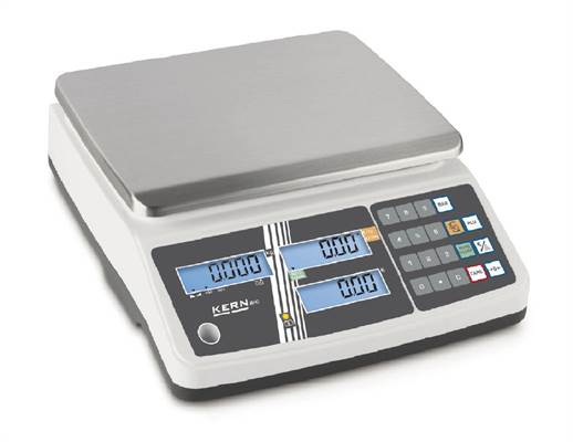 Retail scale Kern RPB 15kg/5g & 30kg/10g. Verified M.