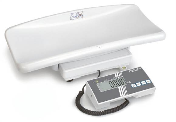 Baby scale MBB Kern 6kg/2g & 15kg/5g. MDD class III, incl verification.