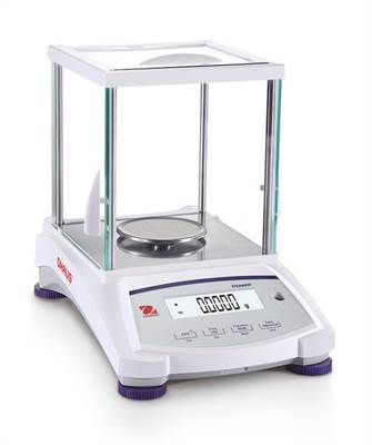 Precision scale for weighing jewelry. Ohaus PJX Carat. 320g/0,001g & 1600ct/0,005ct. Intern cal.