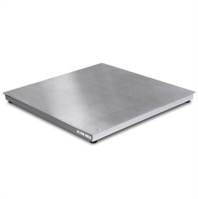 Floor scale platform completely in stainless C6, AISI 304 IP67, 1500x1500x115, 600kg/0,1kg