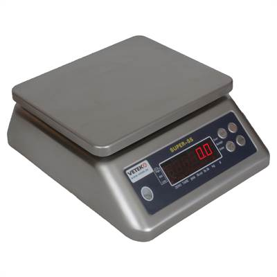 Complete stainless steel IP66 waterproof scale 30kg/5g