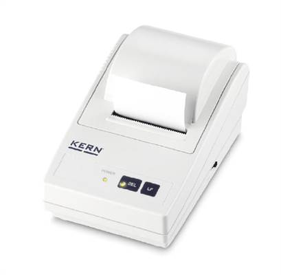 Matrix needle printer for KERN-Balances with Data interface RS-232