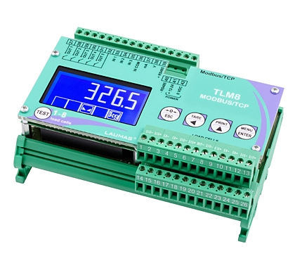 Weighing Transmitter 8 channels. Output: Profibus