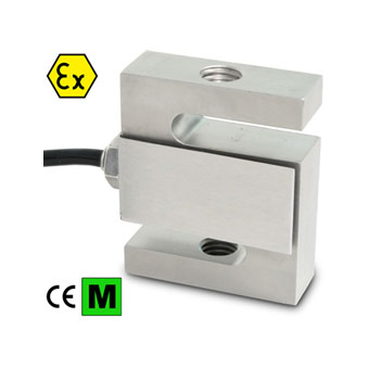 Load cell tension 100kg, stainless steel IP67, ATEX