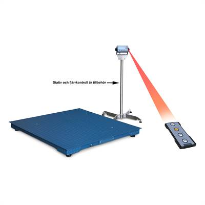 Floor scale 1500kg/0,1kg. 1000x1000x120mm